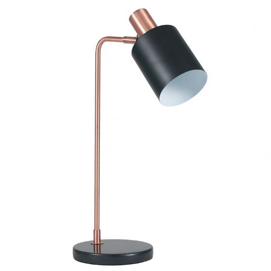 Marble & Copper Retro Lamp